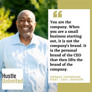 Donald Thompson Advice to New CEOs