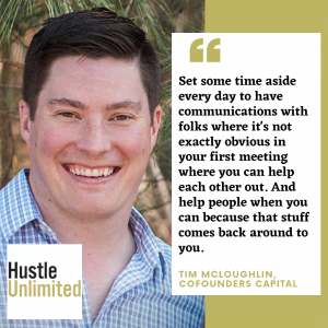 Tim McLoughlin Hustle Unlimited Podcast