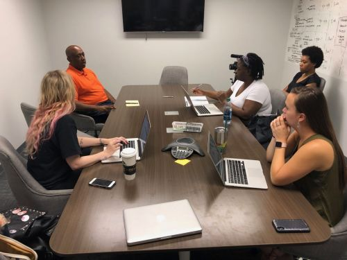 Knowledge Drop with the Creative Allies team