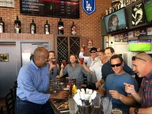 Hanging out in LA with the ownership team of Rock & Brews